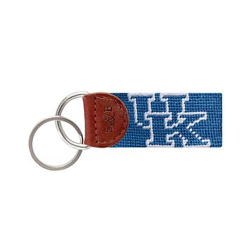 University of Kentucky Needlepoint Key Fob by Smathers & Branson