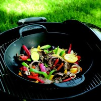 Weber® Cast-Iron Wok Grill Insert | Sur La Table
