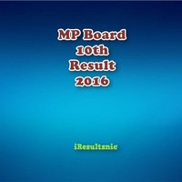 Live MP Board 10th Result 2016:MP Result Declared at Mpbse.nic.in