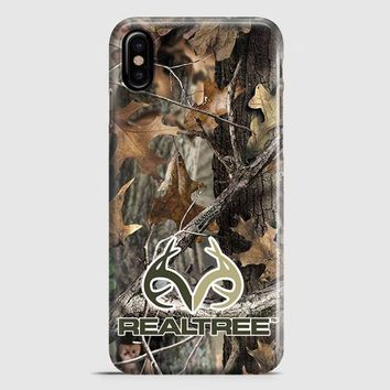 Realtree Ap Camo Hunting Outdoor iPhone X Case