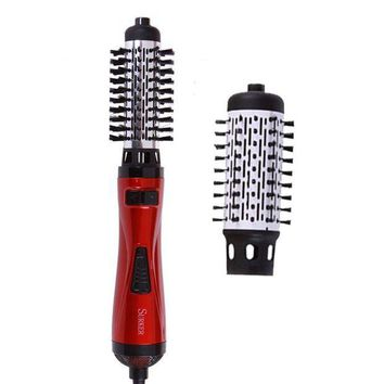 ESBON SURKER New Styling Tools 2 in 1 ProfESSional Multifunctional Hair Dryer Hair Curler Automatic Rotating Hair Brush Roller Style