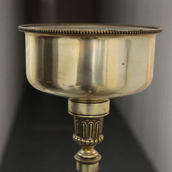 Touchier Floor Light Brass Floor Lamp Vintage 1950