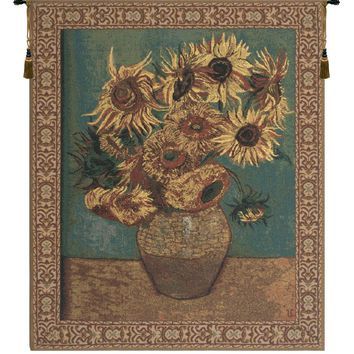 Sunflowers Tapestry Wall Art Hanging