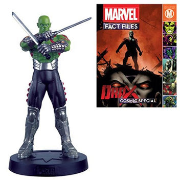 Marvel Fact Files Cosmic Special #6 Drax Figure with Collector Magazine