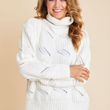 RD Style Cable Knit Sweater