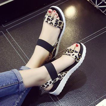 Summer shoes Hot Selling sandals women 2017 peep-toe flat Shoes Roman sandals Women sh
