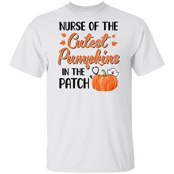 Nurse Of The Cutest Pumpkins In The Patch Halloween Gift
