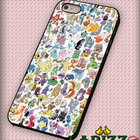 "Pokemon collage new for iphone 4/4s/5/5s/5c/6/6+, Samsung S3/S4/S5/S6, iPad 2/3/4/Air/Mini, iPod 4/5, Samsung Note 3/4 Case ""007"""