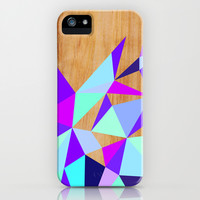 Wooden Geo iPhone & iPod Case by House Of Jennifer