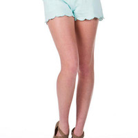 Seaside Park Scalloped Shorts
