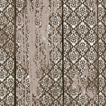 Damask Brown Grunge Backdrop - 7215