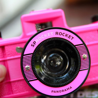 Amazon.com: Lomography Sprocket Rocket pink