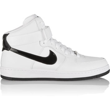 Nike - Air Force 1 Ultra Force leather and canvas sneakers