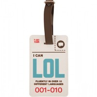 Flight 001 – Where Travel Begins.  F1 Lol Cyber Tag - Luggage Tags - Flight 001 Products