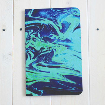 Blue Marble Soft Cover Notebook