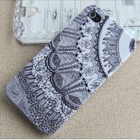 [gryxh3100100]Tribal Hybrid hard Impact Case for iphone 4/4s