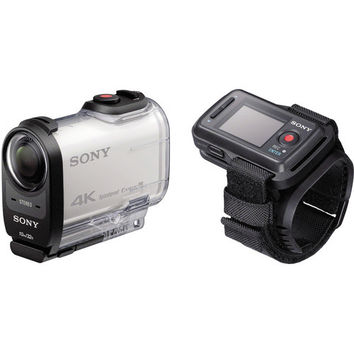 Sony Action Cam 4K with Live View Remote Bundle