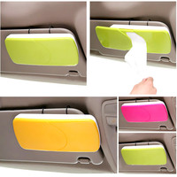 Sun Visor Sun-Shading Board car Tissue Box