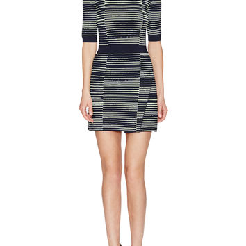 Culver Striped Knit Dress