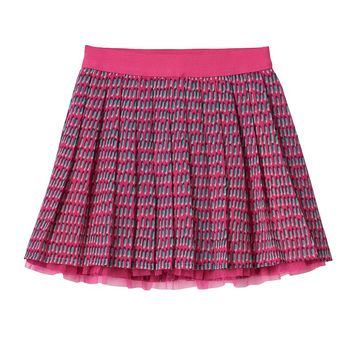 SONOMA life + style Print Pleated Skort - Girls