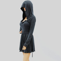 Cowl Neck Hooded dress//Women dress//Women by MIRIMIRIFASHION