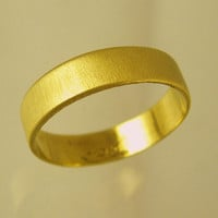 FREE SHIPPING, unisex ring, Man Wedding Band,  Woman Wedding Band, gold ring, Recycled gold, Wedding Band, Made To Order  ring