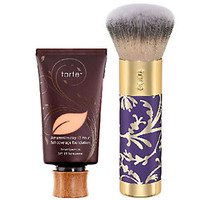 tarte Amazonian Clay Full Coverage Foundation w/Holiday Brush — QVC.com