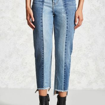 Step-Hem Mom Jeans