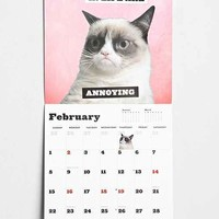 Grumpy Cat 2015 Wall Calendar- Brown One