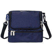 Whale Blue Double Decker Lunch Bag - 52505