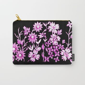 Valentino in Pink Carry-All Pouch by Jessica Ivy