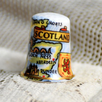 Bone China Thimble Made in England