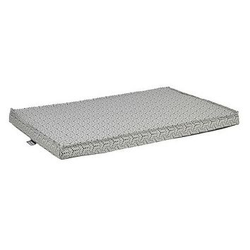 Micro Jacquard Cool Gel Memory Foam Mattress Crate Pad — Milky Way