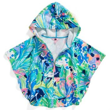 Lilly Pulitzer® Ashlee Hooded Cover-Up (Toddler Girls, Little Girls & Big Girls) | Nordstrom