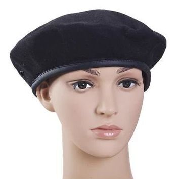 brief military beret cap waiter beret cap guard cap waiter hat military cap food work hat
