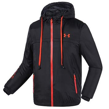 Trendsetter Under Armour Men Cardigan Jacket Coat Windbreaker