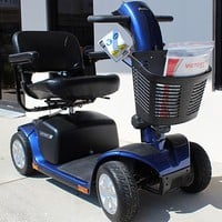 Victory 10 4-Wheel Scooter SC710 - Pride Mobility | TopMobility.com