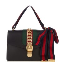 Sylvie leather shoulder bag | Gucci | MATCHESFASHION.COM