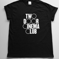 Two Door Cinema Club Band Tshirt Tee Mens Womens Unisex Funny Tshirt gift cool tshirt Custom tshirt friend gift