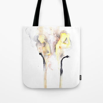 love Tote Bag by MIKART