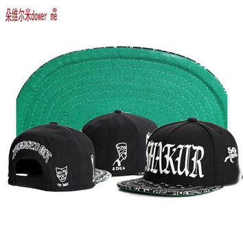 2017 high quality C&S hip hop brand letter Snapback cap street trend shakur gorras adjustable men women cottom baseball hat