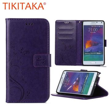 Fashion Phone Cases For Samsung Galaxy Core 2 G355H SM-G355H fundas Retro PU Leather + Soft Silicon Wallet Flip Cover Capa Coque