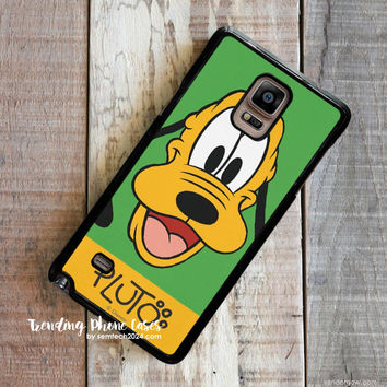 Pluto Cute Dog Disney Samsung Galaxy Note 4 Case Cover for Note 3 Note 2 Case