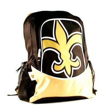New Orleans Saints  Hype Logo Backpack