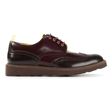 Pulchrum panelled brogues