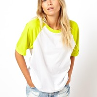 ASOS Oversized Baseball T-Shirt