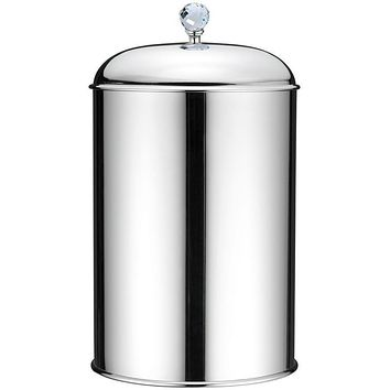 BA Folie Swarovski Round Trash Can for Bathroom - Brass