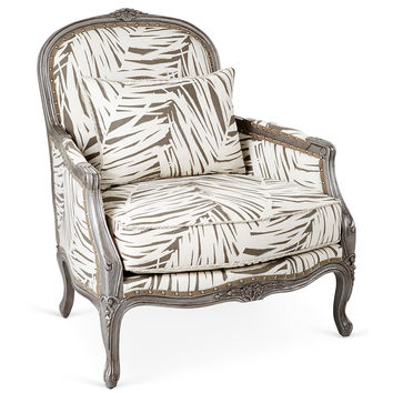 Dawson Bergère, Ash Gray, Accent & Occasional Chairs