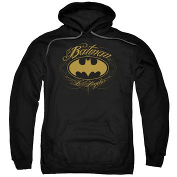 Batman - Batman La Adult Pull Over Hoodie