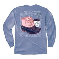 Prep in Your Step - LG - Adult Long Sleeve